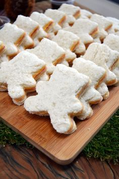 Teddy Bear Sandwiches More