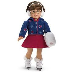 American Girl® Dolls: Molly's Skating Outfit