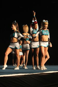 Awesome shot of Cheer Extreme Small Senior