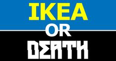 IKEA or Death? names, metals, death metal, ikea product, baby shower games, metal band, furniture, black, baby showers
