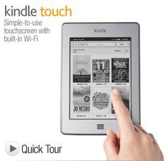 Most-advanced E Ink display, now with multi-touch.  Reads like real paper, even in bright sunlight.  Built in Wi-Fi - get books in 60 seconds.  Sleek design - Only 213 grams, holds up to 3,000 books.  EasyReach touch technology lets you read easily with one hand.  New X-Ray feature lets you look up characters, historical figures, and interesting phrases. Learn More  Text-to-speech, audiobooks and mp3 support.  Up to two month battery life.