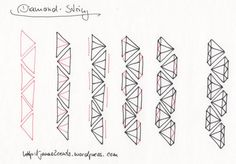 2012-02-14 how to draw a diamond string by Janas2Cents, via Flickr