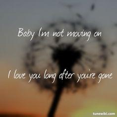 """Gone, Gone, Gone,"" Phillip Phillips lyrics"