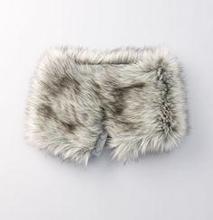 Faux fur neck warmer...potential DIY? ($39.50)