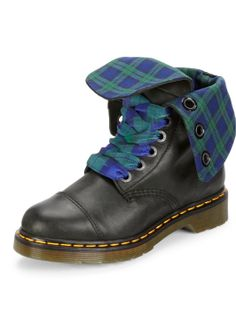 Dr Martens Aimilie Fold Over 9-Eyelet Boots | very.co.uk