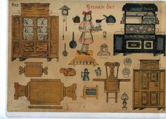 kitchen in 1910 | Friday, September 15, 2006 in Doll Houses and Miniatures | Permalink ...