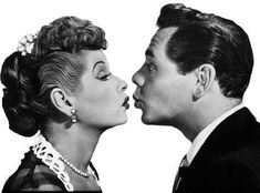 I love Lucy. I want my relationship to be like Lucy and Desi's. They had fun and they were madly in love. (I just pray our careers tear us apart like it did Lucy and Desi...)