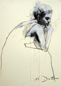 fashion illustration, pencil, drawing, beauty