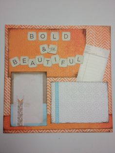 Vintage Chic: Created using the new Vintage Chic Power Palette from Creative Memories creativ memoriesscrapbook
