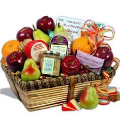 Orchard's Abundance - Fruit Gift Basket  $69.99 #pintowingifts
