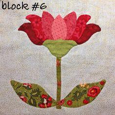 Beautiful!  Mrs. Lincoln's sampler quilt by Anita Ireta