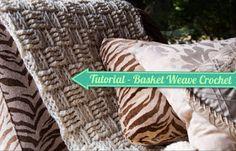 basket weav, stitch tutori, crochet stitches, weav blanket, crochet pattern, stitch patterns