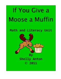 FREE Subtraction Worksheet If You Give a Moose a Muffin