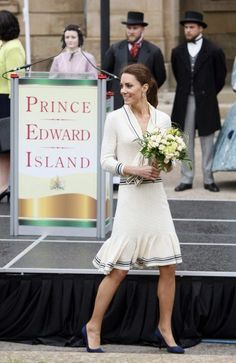 Kate Middleton and The Confederation Players in Charlottetown.