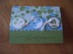 best blossom thank you by Pandora Spocks - Cards and Paper Crafts at Splitcoaststampers