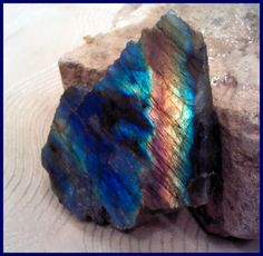 Labradorite Spectrolite Rough Slab Full Spectrum of Color