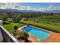 Yes, pools and views this beautiful do exist. Kelowna, BC  Coldwell Banker Horizon Realty $4,499,000
