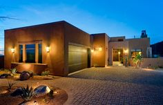 Modern desert homes on pinterest 53 pins for Adobe style modular homes