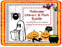 Halloween Literacy and Math Bundle from Teacher Features on TeachersNotebook.com -  (65 pages)  - This is your Halloween game bundle...14 games! High quality, engaging and a great value- look no further for Halloween fun. Your students will enjoy these activities! (65 pages)