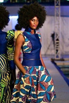 Malleni Peace kinshasa fashion week 2013 congo fashionghana (8)
