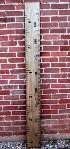 Growth Chart Ruler  DIY Vinyl Decal  by LittleAcornsByRo on Etsy, $22.99