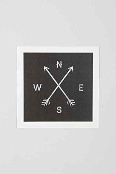 Zach Terrell Compass Art Print - Urban Outfitters, Where would you hang this? http://keep.com/zach-terrell-compass-art-print-urban-out-by-directionshome/k/zulRreABA1/