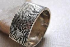 Custom fingerprint ring... This is the one!