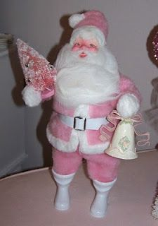 Harold Gale Pink Santa