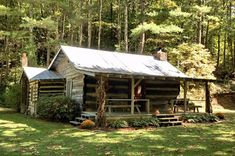 Antique Log Cabin located in Western, NC. Handhewn logs approx 300 yrs old. Renovated. Sits behind 800' + river frontage; includes additional acreage that perks for 3 BD home.Available