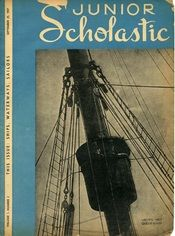A September 1937 issue of Junior Scholastic focused on ships, waterways, and sailors.