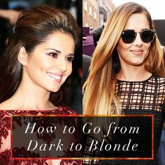 Ever wondered how Cheryl goes form dark to blonde without ruining her hair? Then read on for our tips on how to go from dark to blonde here http://dirtylooks.com/blog/how-to-go-from-dark-to-blonde