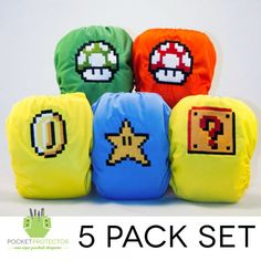 Cover Your Baby's Butt With Geeky Cloth Diapers!