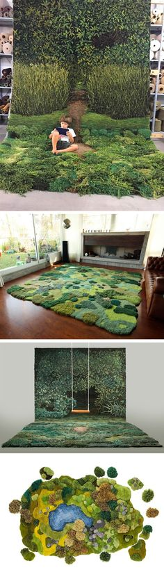 One-of-Kind Wool Rug