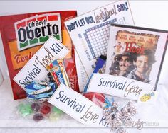 Care Packages DIY Gift by The Dating Divas