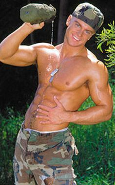 hot marines pictures | This is the hot hot army guy pose Wallpaper, Background, Picture and ...
