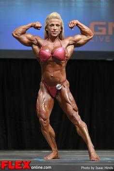 Anne Freitas - Women's Bodybuilding - 2013 Toronto Pro |