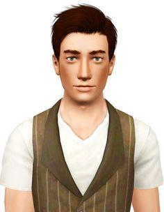 Lapiz Zombrex hairstyle retextured by Pocket for Sims 3 - Sims Hairs - http://simshairs.com/lapiz-zombrex-hairstyle-retextured-by-pocket/