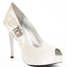 Wedding Shoes #wedding_shoes Heels I Love #heels #wedding #shoes #high_heels #white #love   Orli Pump - Ivory, Martinez Valero,