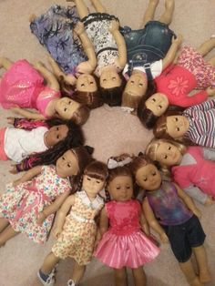 Most of my dolls :D