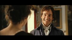 Mr.Darcy smiling!!! <3