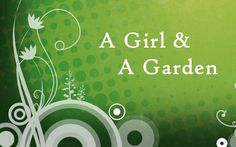 A Girl & A Garden is a gardening blog written by a master gardener and horticulture student.  It has a lot of helpful tips, as well as links to tons of great gardening resources.