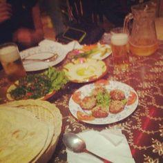 #BKK #Bangkok #bamboo #Lebanese #food #nana #soi3 #Falafel #hummus #shawarma @ruben_i- #webstagram