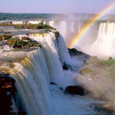 Iguazu Falls in Argentina. Beautiful.