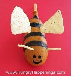 Corn Dog Bumble Bees!