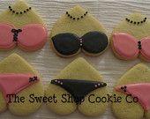 Bachelorette party cookies