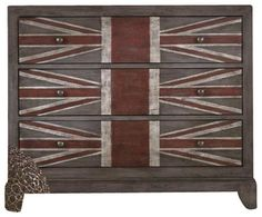 Hooker Furniture Melange Union Jack Chest