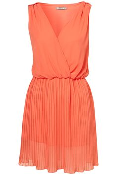 Coral Cross Dress, perfect date night dress with the hubs!