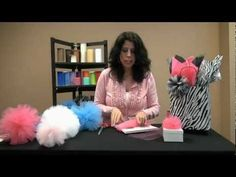▶ How To Make Tulle Poms - YouTube