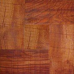 Peel & Stick wood linoleum tile from Home Depot, 5 star rating