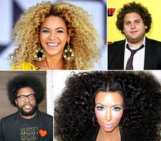 Celebs With Afros